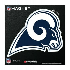 """LOS ANGELES RAMS 6""""X6"""" DIE-CUT MAGNET FOR INDOOR OR OUTDOOR USE HEAVY DUTY"""