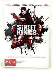 Street Kings (DVD, 2008) Keanu Reeves - Region 4 Free Postage