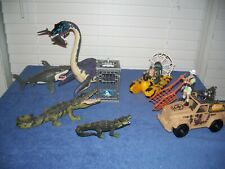 Chap Mei Elasmosaurus Crocodile & Shark Animal Planet Wild Rescue Sea Quest