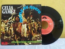 "CELIA GAMEZ -MAMA EU QUERO- MEXICAN 7"" SINGLE PS LATIN"