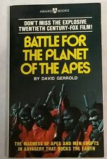 1973 Battle For The Planet of The Apes David Gerrold Paperback *Near Mint!