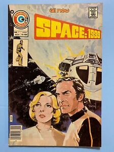 1975 FIRST ISSUE ~ SPACE 1999 TV Show Comic # 1 ~ Charlton FINE-FINE+