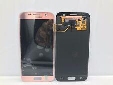 Pantalla Samsung Galaxy S7 SM-G930 PINK ROSA ORO ORIGINAL + ADHESIVO MRW24H