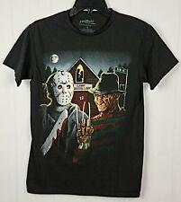 New listing A Nightmare On Elm Street Freddy Krueger Vs Jason Graphic Men's T Shirt Size S