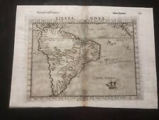 South America, Tierra Nova, Ruscelli original map