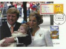 Kaart Royalty 2004 - Ned.Antillen - Catharina Amalia met ouders (roy032)