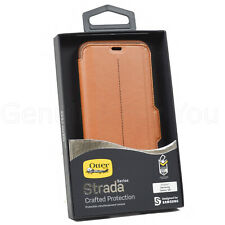 Genuine OtterBox Strada Wallet Folio Flip Case Cover For Samsung Galaxy S8+ Plus