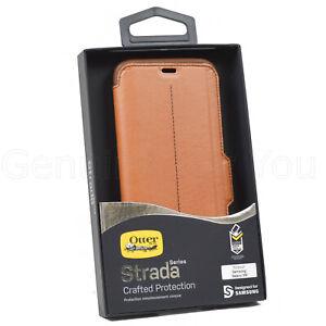 Genuine OtterBox Strada Wallet Folio Flip Case Cover For Samsung Galaxy S8+ Plus