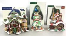 (3) Department 56 Christmas Porcelain Buildings Lot 2332