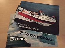 Chris Craft Lancer 23 Boat Brochure / Catalog Package