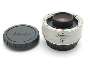 """""""MINT"""" Canon Extender EF 1.4x Teleconverter for EOS from Japan"""