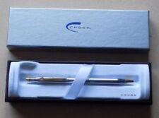 CROSS Masonic Chrome & Gold Plate Pen