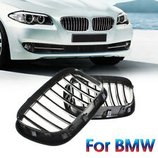Black Front Center Grille For BMW 00-03 X5 E53 OEM Replacement Grill Kidney Hood