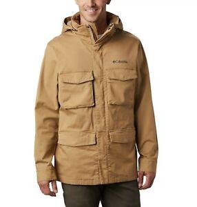 Columbia Men's Tummil Pines Military Field Jacket Size Large NEW