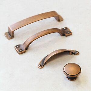 Antique Copper Handles | Cup, Knob & D Handles | Kitchen, Cupboard, Drawer, Door