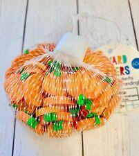 60 Mini Fall Pumpkins Shaped Erasers Teacher Supply Sorting Math Counter Rewards