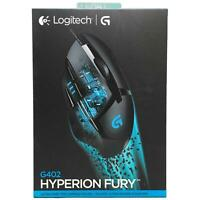 Logitech G402 Hyperion Fury FPS Wired Optical 4000 dpi Gaming Mouse 910-004069