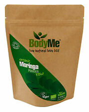 BodyMe Organic Moringa Oleifera Powder Raw | 250g | Soil Association Certified
