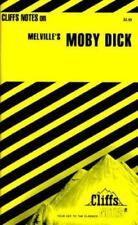 Moby Dick by Herman Melville,  Cliffs Notes Staff (1966, Paperback, Revised)