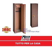 ARMADIO BOX PORTAFUCILI FUCILIERA 4 POSTI FUCILI EFFETTO LEGNO TCL/4 TECHNOMAX