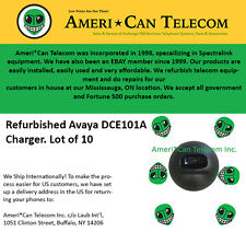 Avaya Refurbished DCE101A Chargers (Lot of 10)