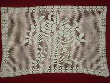 Antique&Vintage Handmade Cotton Cochet Lace Doily*Code:k195*