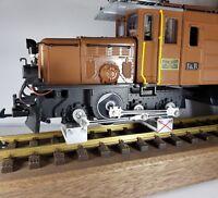 1 x Gleisrollenbock Spur 1/G von Bima-Modellbau Rollenprüfstand