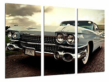 Cuadro Moderno Coche Cadillac Antiguo, Coches Vintage, ref. 26443
