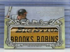 2020 Topps Sterling Brooks Robinson # 1/1 Game Used Bat Nameplate Orioles D50