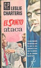 EL SANTO ATACA LESLIE CHARTERIS AÑO 1961 GP POLICIACA 169   TC12039 A6C2