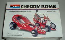 CHERRY BOMB Custom Show Rod w CHOPPER & Trailer Plastic Model Kit New