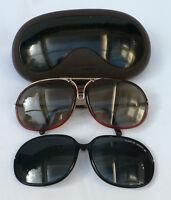 Porsche Carrera Sonnenbrille 5631 Brille Austauschgläser Optische Gläser Vintage