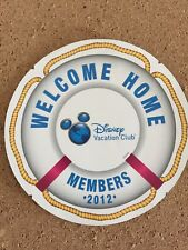 Disney Vacation Club Welcome Home Door Magnets 2012