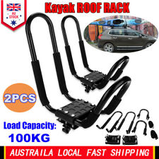 2XPortable Wall Bracket Kayak Rack Carrier Canoe Surfboard Storage Paddle Holder