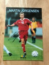 Martin Jorgensen AGF Fiorentina Udinese Football Signed Picture/autograph
