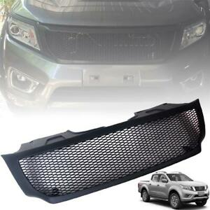 Front Net Grille Grill Black For Nissan Navara Frontier NP300 D23 2015 16 17 18