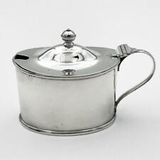More details for george v sterling silver mustard pot sheffield 1915 atkin brothers