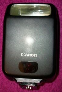 GENUINE CANON SPEEDLITE 160E for CANON EOS FILM SLRs, CASED, CLEAN,  tested