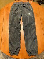 Kids Boy's Adidas MESSI Soccer Jogger Swoosh Pants Large Gray Black Green