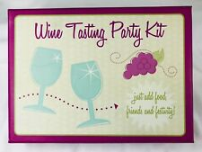 Wine Tasting Party Kit Markings by CR Gibson 053240067 Bottle Bags Tags Markers