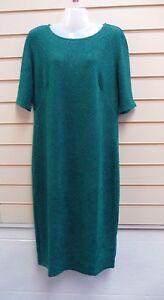 Kaleidoscope Ladies Dress Size 16 Green Sparkle G025