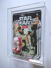 VINTAGE STAR WARS AFA 50 (70/50/80) KENNER 1979 R5-D4 DROID 21 BACK MOC