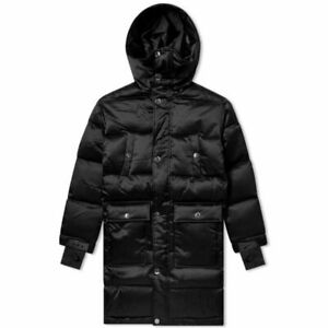 $800 Nike NikeLab x MMW Matthew Williams Down Fill Parka Jacket Black AR5610-010