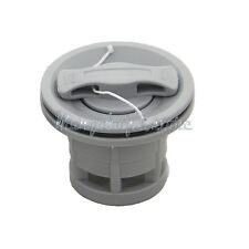 2pcs Double Seal Grey Air Valve For Inflatable Boat Raft Dinghy Kayak Canoe