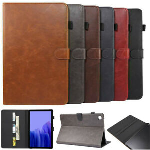 For Samsung Galaxy Tab A A6 A7 S2 S5e S6 E Tablet Leather Flip Stand Case Cover