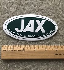 Jax Sporting Goods Sticker Store Colorado Outdoor Decal Shooting Archery Fl