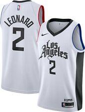 New Men Nike Kawhi Leonard Los Angeles Clippers #2 Swingman Jersey-City Edition