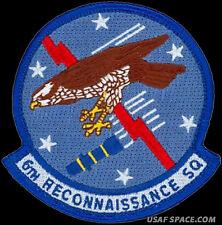 USAF 6th RECONNAISSANCE SQ MQ-1 Predator DRONE UAV INTEL ORIGINAL PATCH