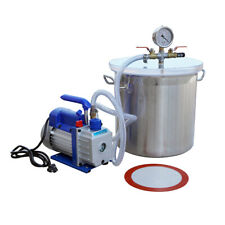 5 Gallon Vacuum Chamber and 3CFM Single Stage Pump Degassing Silicone Kit