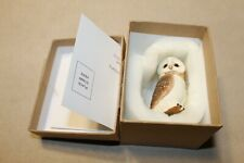 Harmony Kingdom / Ball Pot Bellys / Belly 'Barn Owl' - #Pbzow7 With Original Box